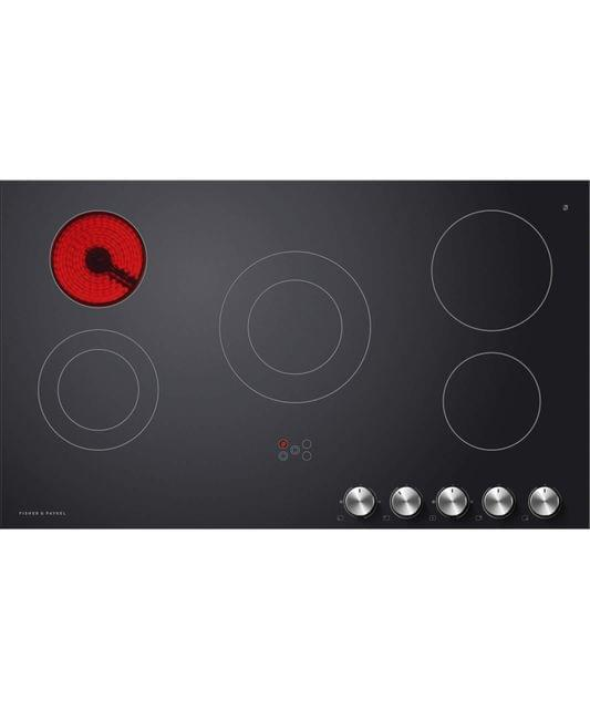 Fisher &Paykel 90cm Electric Ceran Cooktop w/ SS Front Trim