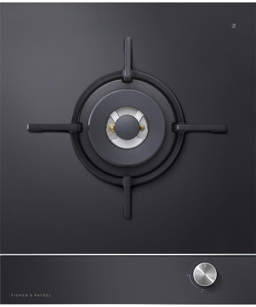 Fisher &Paykel 45cm Gas on Glass 1 Burner Cooktop