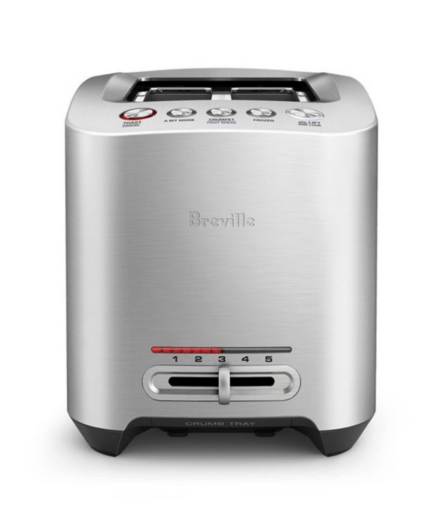 Breville the Smart Toast 2 Slice - Brushed Stainless Steel