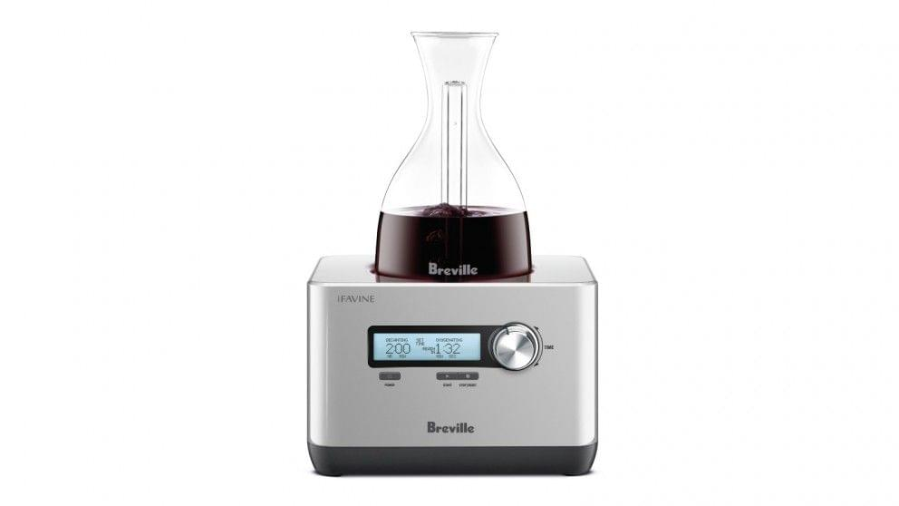 Breville The Sommelier Wine Decanting Machine - Stainless Steel