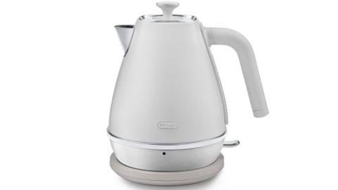 DeLonghi Distinta Moments 1.7L Kettle Sunshine White
