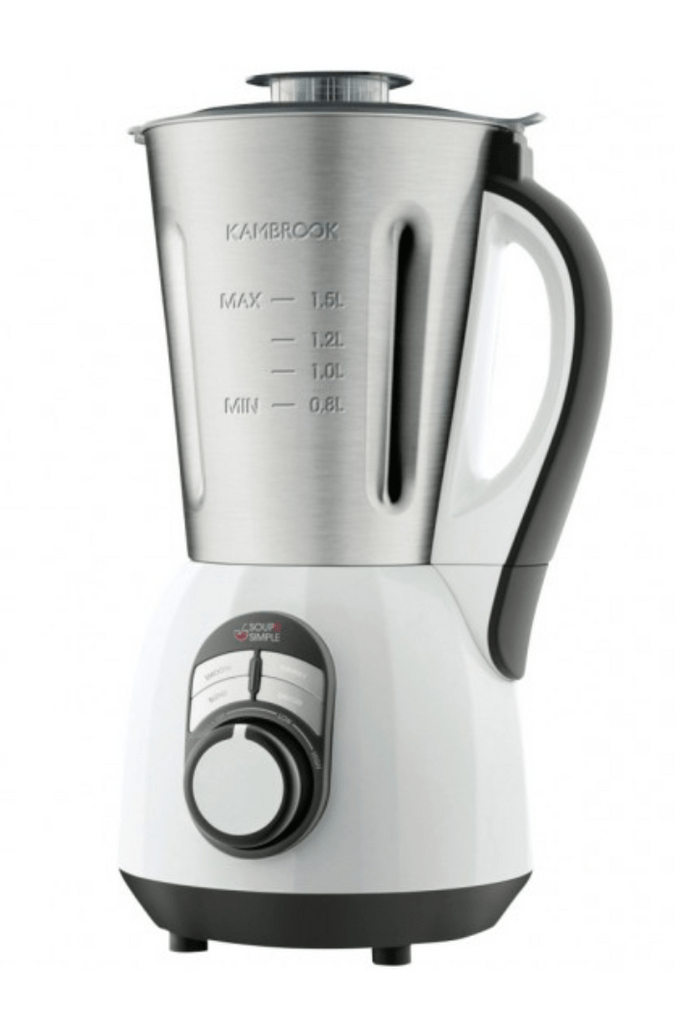 Kambrook 1.5L Soup 2 Simple Soup Maker - Brushed Stainless Steel