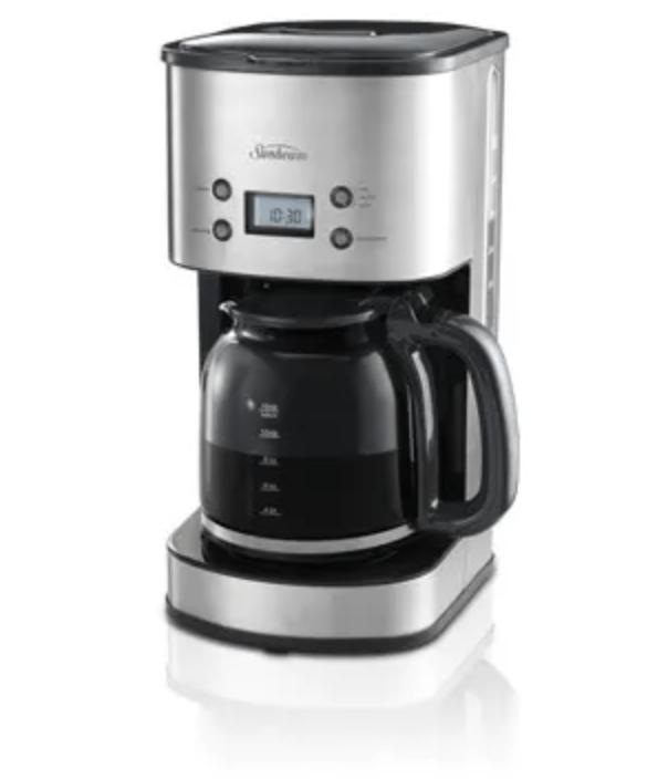 Sunbeam Auto Brew Drip Filter Coffee Machine S/S