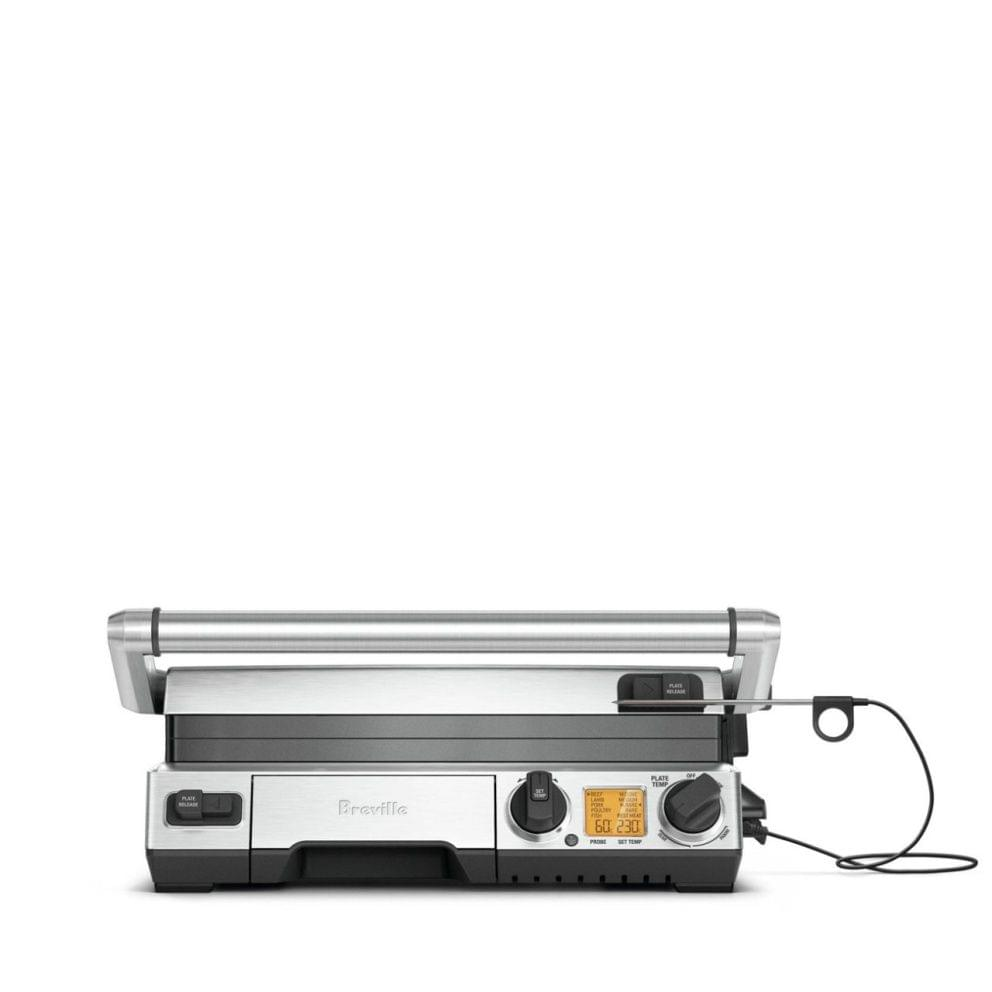 Breville The Smart Grill Pro Electric Grill - Stainless Steel