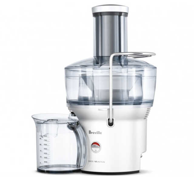Breville Juice Fountain Compact Juicer - Stainless Steel