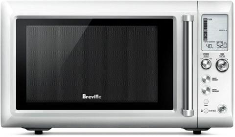 Berville the Quick Touch Compact Microwave - Brushed Stainless Steel