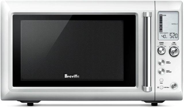 Breville the Quick Touch Compact Microwave - Brushed Stainless Steel
