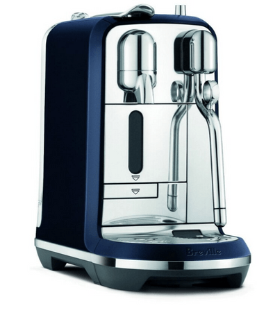 Breville Creatista Plus Coffee Machine - Damson Blue