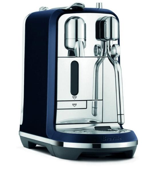 Breville Creatista Plus Coffee Machine - Damson Blue
