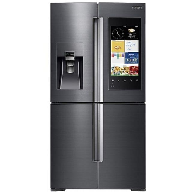 Samsung 825L Family Hub French Door Fridge Black S/S