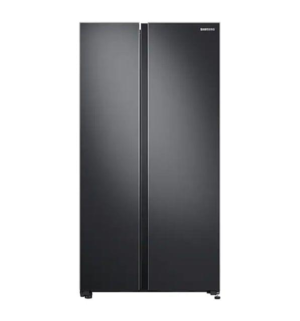Samsung 696L Side by Side Refrigerator Matte Black