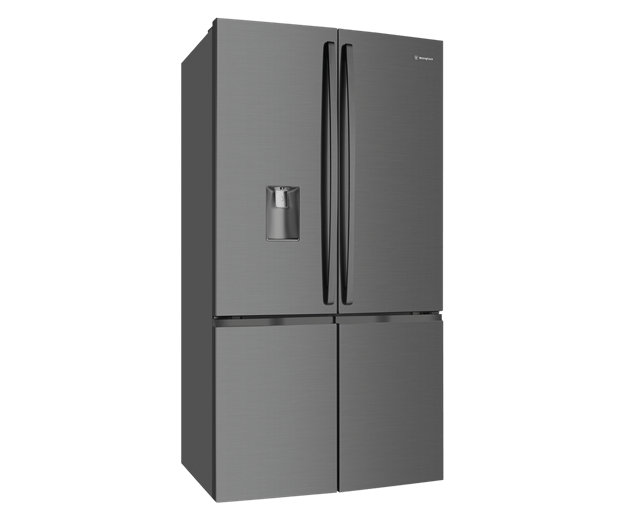 Westinghouse 600L French 4 Door Fridge - Dark S/S