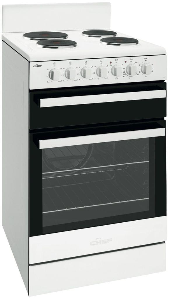 Chef 54cm Electric Oven Upright Serperate Grill F/F