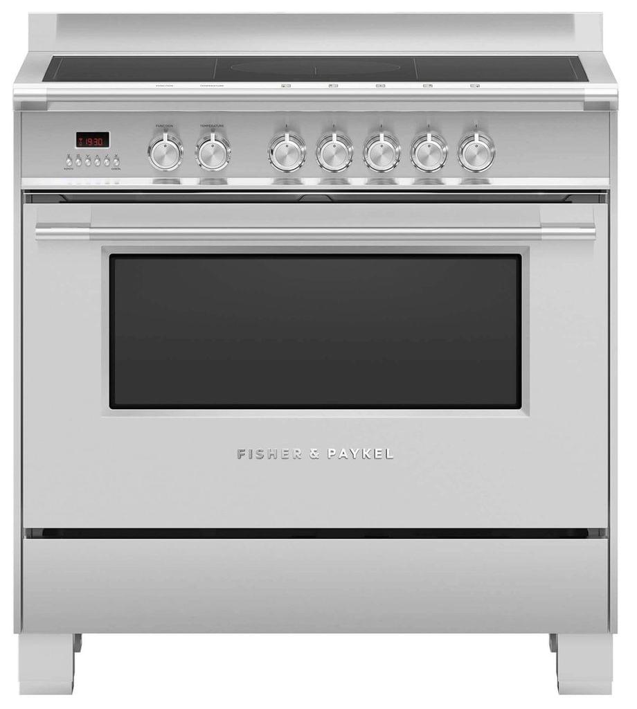 Fisher &Paykel 90cm Freestanding Cooker Induction 9 Func S/S