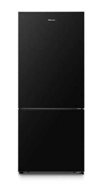 Hisense 453L Bottom Mount Refrigerator Black Steel