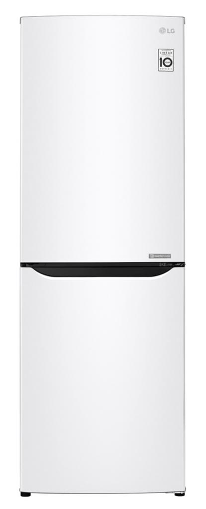 LG 310L Bottom Mount Refrigerator - White RHH