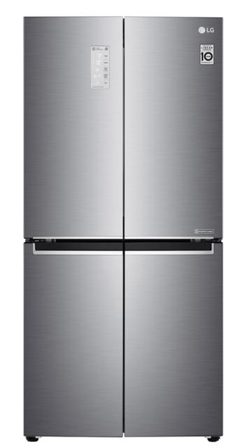 LG 594L Slim French Door Fridge S/S