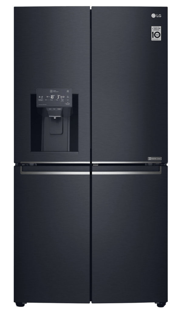 LG 708L Door-In-Door French Door Fridge Matte Black