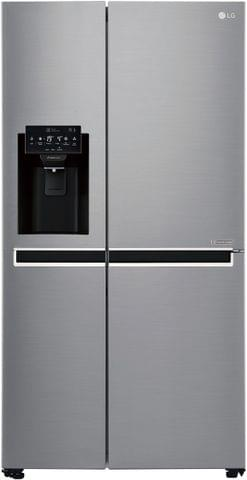 LG 668 Litre Side by Side Refrigerator - with Ice & Water - Silver Finish