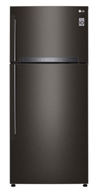 LG 516L Top Mount Refrigerator - Black RHH