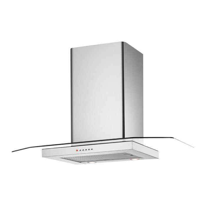 Chef 90cm Flat Glass Canopy Rangehood