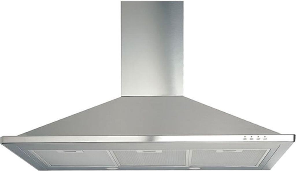 DeLonghi 90cm Canopy Rangehood Stainless Steel