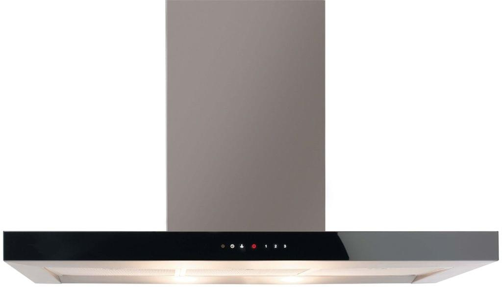 DeLonghi 90cm Wall Canopy Rangehood 3 Speed 820m3/hr
