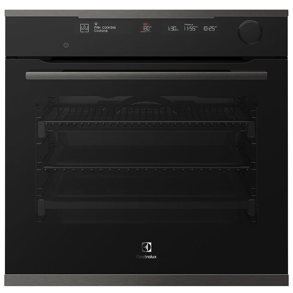 Electrolux 60cm Pyrolytic Steam Oven 16 Functions Dark S/S