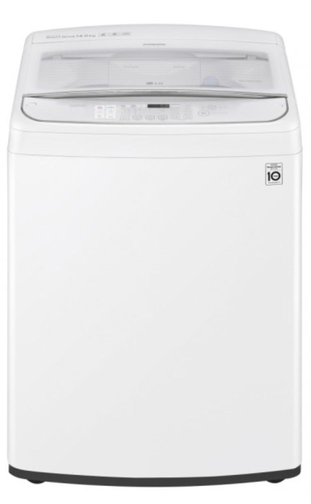 LG 10Kg Top Load Washing Machine White