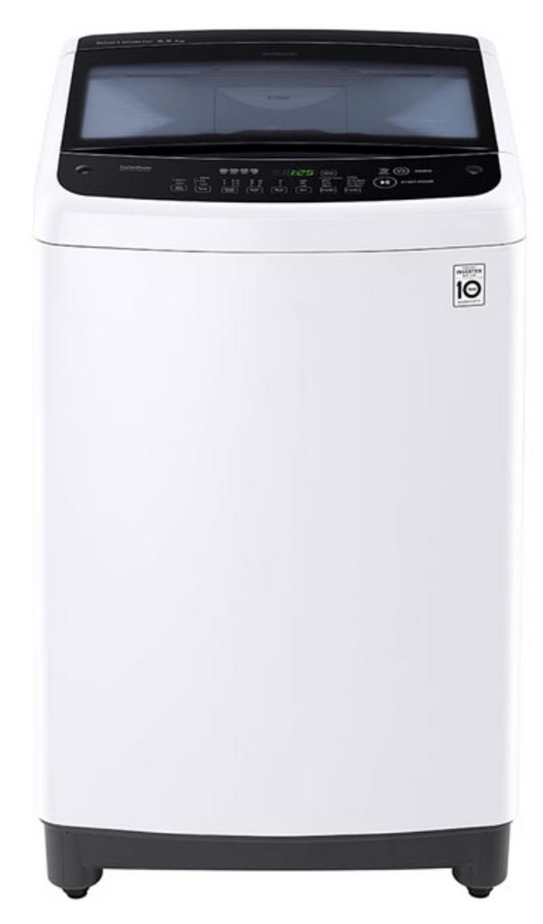 LG 6.5Kg Top Load Washing Machine White