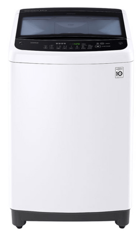 LG 7.5Kg Top Load Washer 6 Motion Direct Drive White
