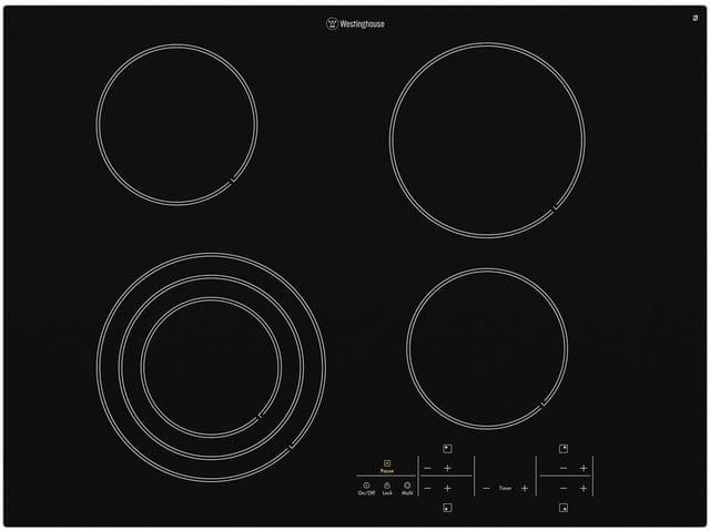 Westinghouse 70cm Ceramic Cooktop 4 Element Touch Control