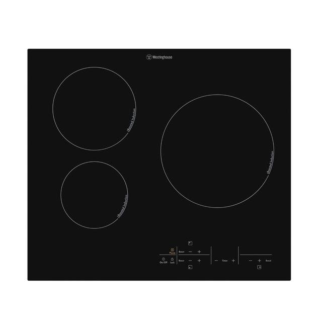 Westinghouse 60cm Induction Cooktop 3 Zone w/ Pause Option
