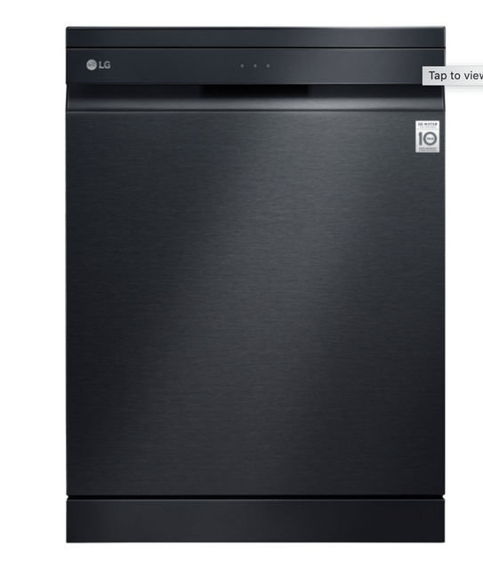 LG 15 Place QuadWash Dishwasher w/ TrueSteam - Matt Blk