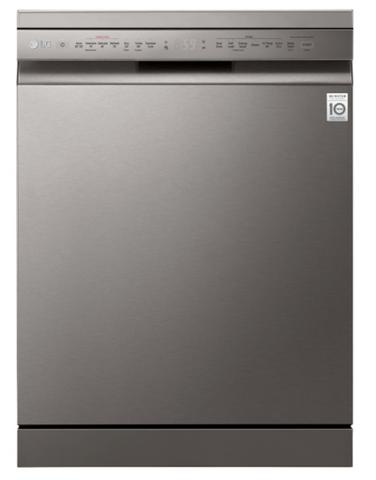 LG 60cm QuadWash Dishwasher Platinum Steel