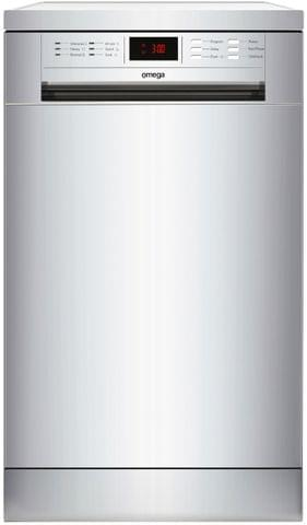 Omega 45cm Compact Freestanding Dishwasher S/S