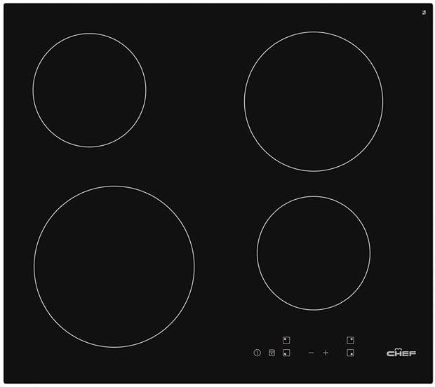 Chef 60cm Ceramic Cooktop 4 Elements Touch Control