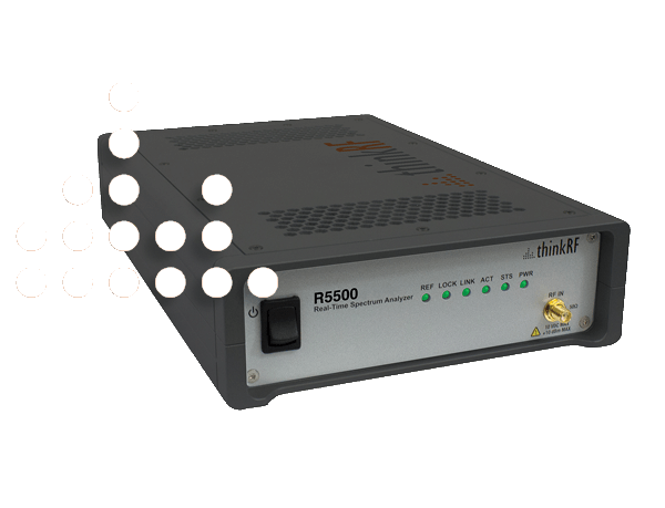 R5500 - Real-Time  Spectrum  Analyzer