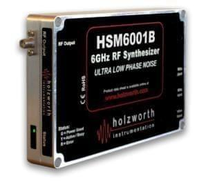 Single channel HSM4001A series RF Synthesizers