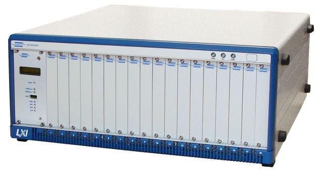 60-103B-001 18-Slot LXI Modular Switching Chassis