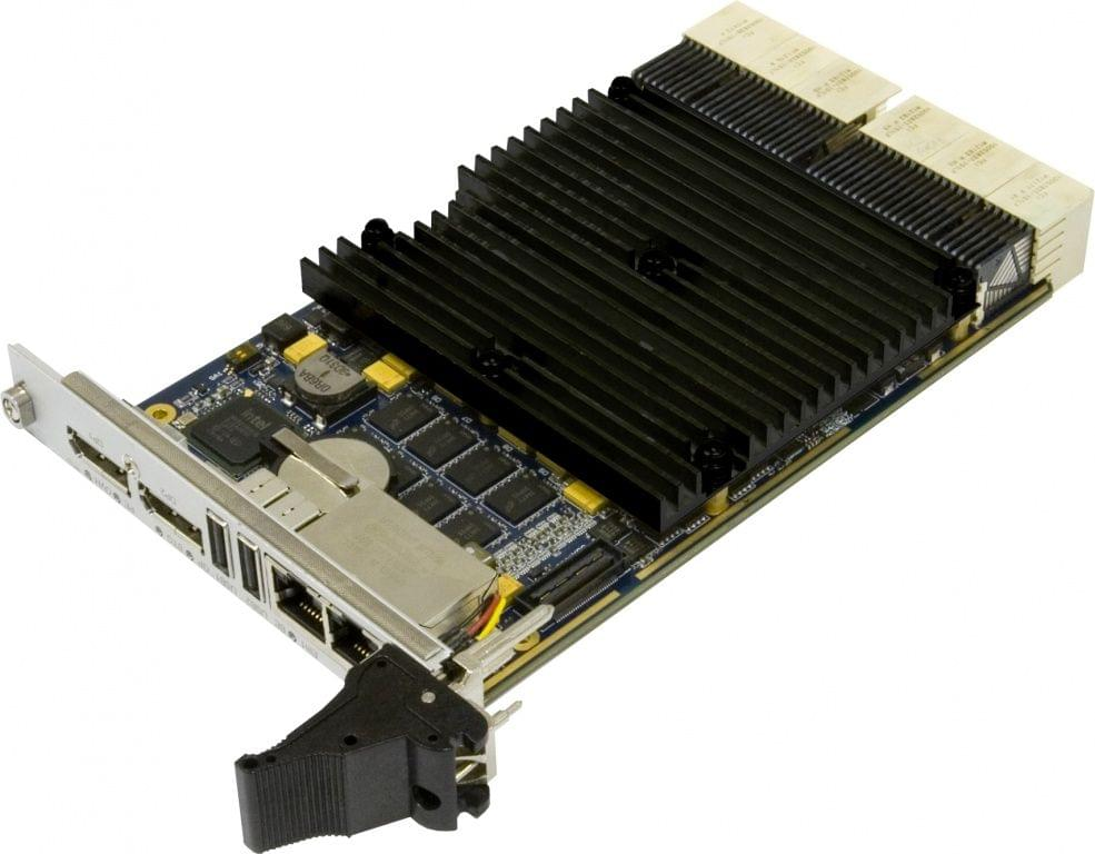 CPC512 3U CompactPCI Intel IvyBridge (2/4 Cores) CPU board