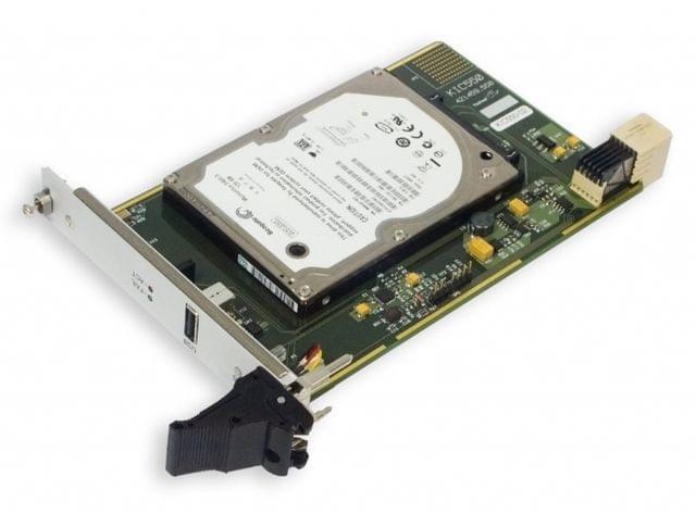 KIC550 3U CompactPCI Peripheral Storage Module