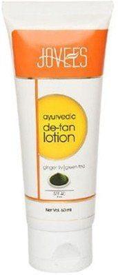 Jovees Ayurvedic De-Tan Lotion Ginger Lily Green Tea