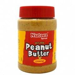 Nuteez 400g Crunchy Peanut Butter