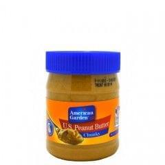 American Garden 510g Crunchy Peanut Butter