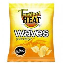 Tropical Heat Salted Waves Crisps 125g
