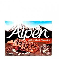 Alpen Milk & Dark Chocolate Bar 145g