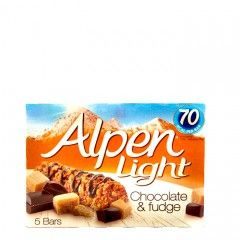 Alpen Light Chocolate & Fudge Bar 95g