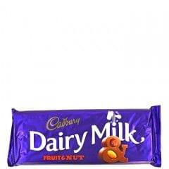Cadbury Fruit & Nut Dairy Milk Chocolate 150g