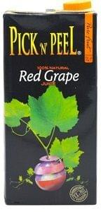 Pick N Peel Red Grape Juice 1Ltr